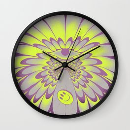 Dissolving the illustration Wall Clock