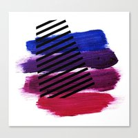 Magenta Broadcast Canvas Print