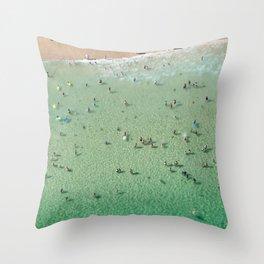 Bondi Boogie Throw Pillow