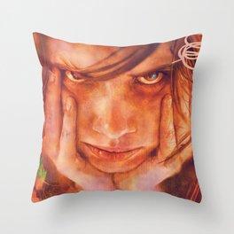 Bouh Throw Pillow