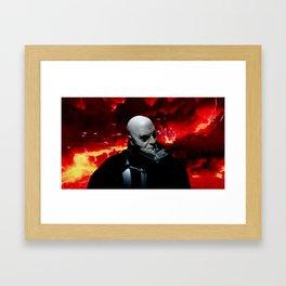 Vader/ Mustafar Framed Art Print