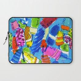 Watercolor Buoys Laptop Sleeve