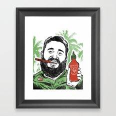 Castro Sauce Framed Art Print