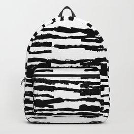 Dashed Stripes Backpack