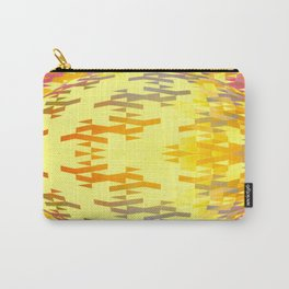 Geospherical (yellow) Carry-All Pouch