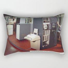 Ferranti Argus 500 Computer System Rectangular Pillow