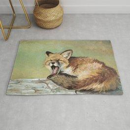 Sleepy Fox Rug