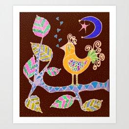 Lullaby in Birdland Art Print