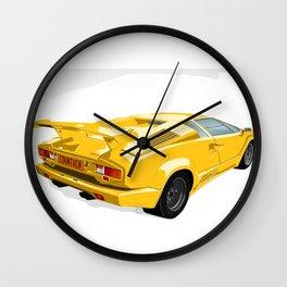 Lamborghini Countach - 25th Anniversary Edition Wall Clock