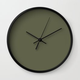 Finch - Solid Color Wall Clock