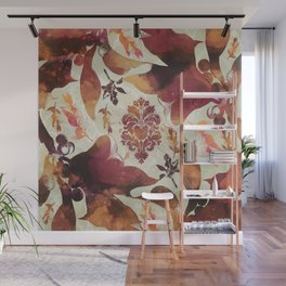 Floral Decor II Wall Mural