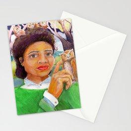 Owl Madame Stationery Cards