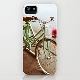 MINTY BIKE iPhone Case