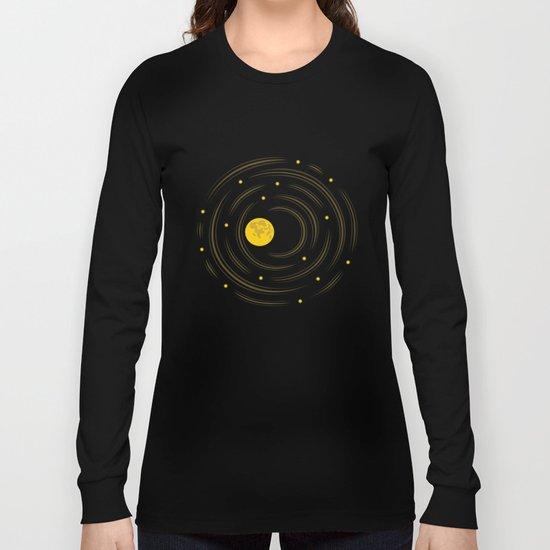 Moon And Stars Dream Long Sleeve T-shirt