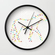 Dot Unicorn Wall Clock
