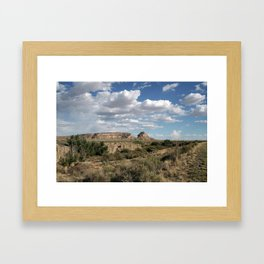 Fajada Butte Framed Art Print