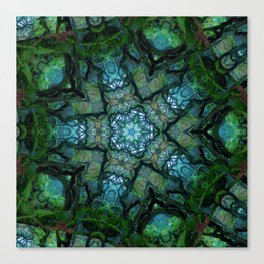 Lost in Moss Canvas Print