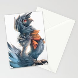 Avian Paint Sketch Stationery Cards