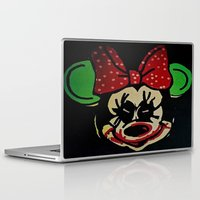 minnie mouse Laptop & iPad Skins featuring Minnie Mouse by Jide