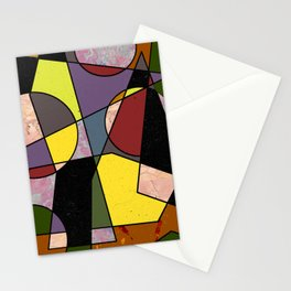 Abstract #102 Stationery Cards