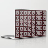 xoxo Laptop & iPad Skins featuring XOXO by LLL Creations