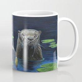 The River Otter by Teresa Thompson Coffee Mug