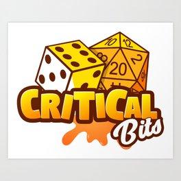 Critical Bits Logo Art Print