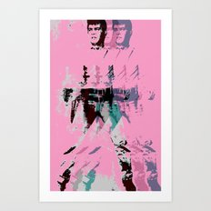 FPJ pretty in pink Art Print