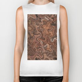 Abstract of Life Painting Biker Tank