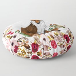 Sleepy Rose Floor Pillow
