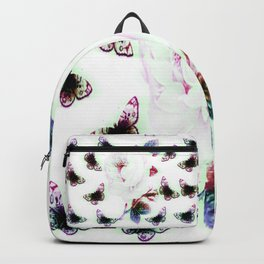 Rose and Butterflies Backpack