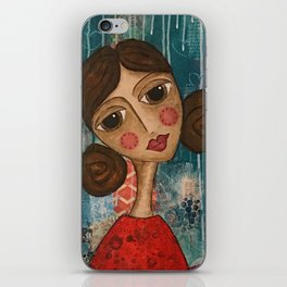 Coco's Closet - May You Live a Life You Love iPhone Skin