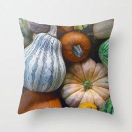 California Vegetables Throw Pillow