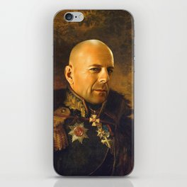 Bruce Willis - replaceface iPhone Skin