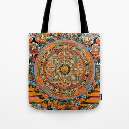 Mandala Buddhist 12 Tote Bag