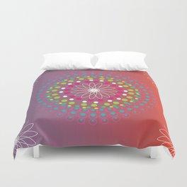 Dot Mandala Duvet Cover