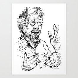 David Suzuki (scientist) Art Print