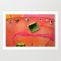 Traveling the World 1 Art Print