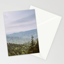 Blue Smoke Mountains Stationery Cards