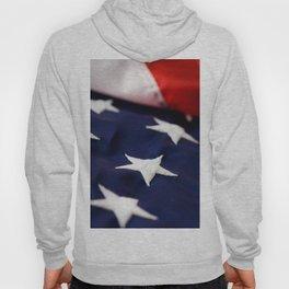 Focus On American Flag Star Hoody