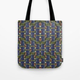 Cool Woven Blue Tote Bag