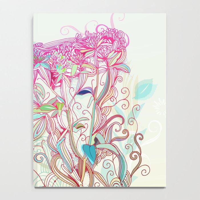 Floral clover Notebook