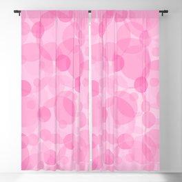 Pink Bubbles 1 Blackout Curtain