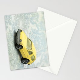 Yellow Hot Wheels Packin' Pacer 1977 Stationery Cards