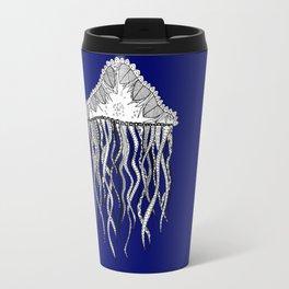 Blue Jellyfish Travel Mug