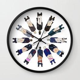 President Butts 2021 Wall Clock