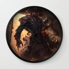 High Noon Lucian League of Legends Wall Clock