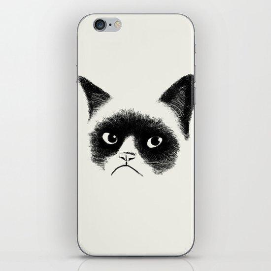 Grumpy Cat iPhone Skin