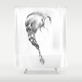 Katniss Shower Curtain