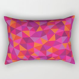 Prismatic Pattern Rectangular Pillow